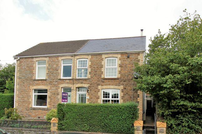 Thumbnail Semi-detached house for sale in Llwydarth Road, Maesteg