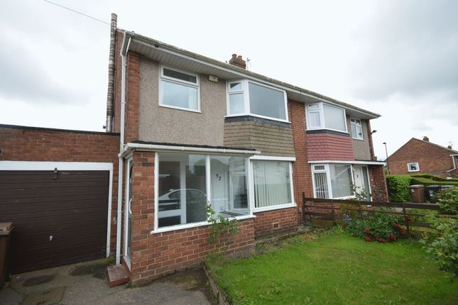 Thumbnail Semi-detached house to rent in Moor Park Road, North Shields