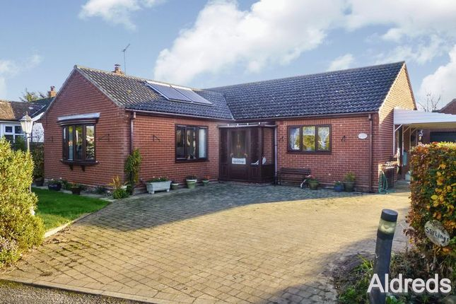 Thumbnail Detached bungalow for sale in Mill Road, Potter Heigham, Great Yarmouth