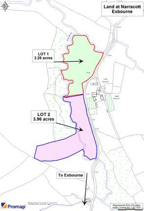 Thumbnail Land for sale in Exbourne, Okehampton