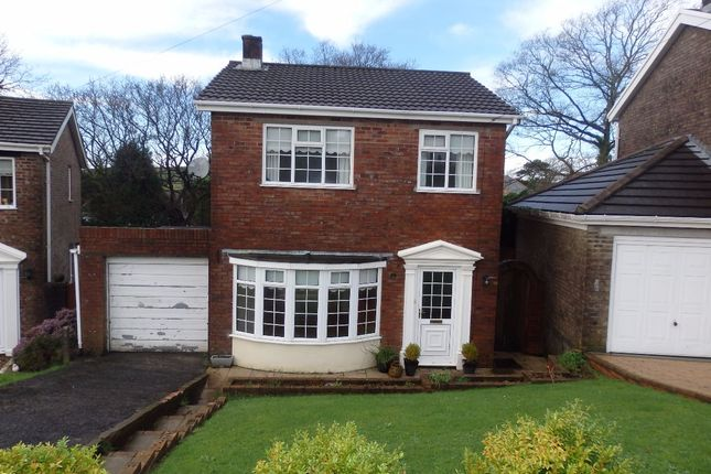 Thumbnail Detached house to rent in Hilltop, Felinfoel, Llanelli