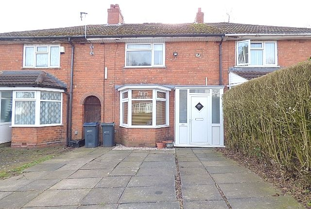 Terraced house in  Norrington Road  Northfield  Birmingham
