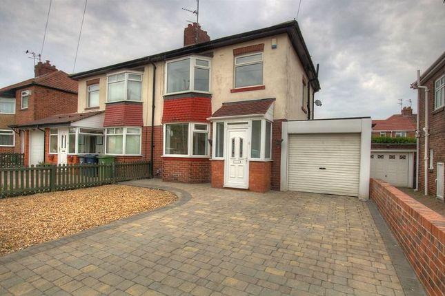 Thumbnail Semi-detached house to rent in Mill Lane, Hebburn, South Tyneside