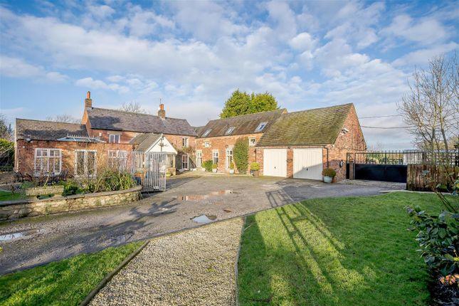 Thumbnail Property for sale in Four Lane Ends Farm, Ashbourne, Derbyshire
