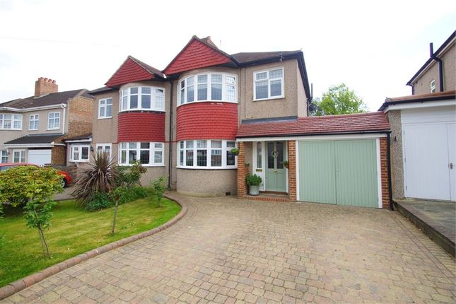 Thumbnail Semi-detached house for sale in Lewis Road, Sidcup, Kent