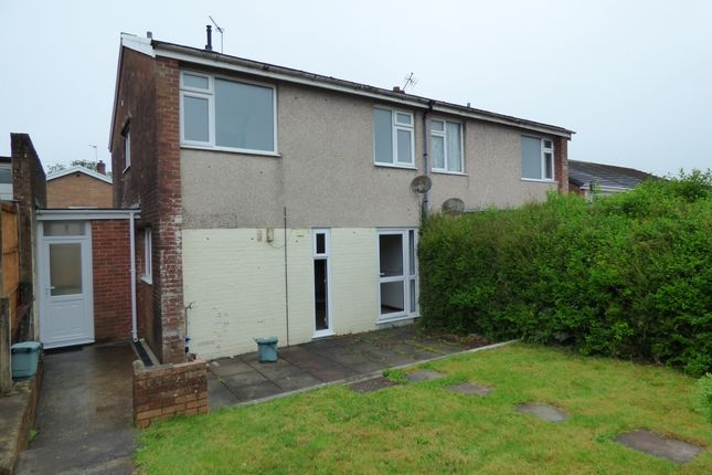 Thumbnail Property to rent in Knoll Gardens, Carmarthen, Carmarthenshire