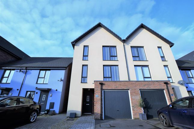 Thumbnail Semi-detached house for sale in Portland Drive, Barry