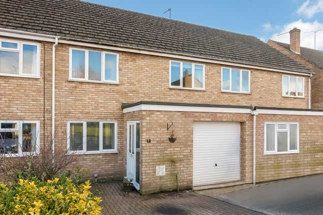 Thumbnail Terraced house for sale in Dorn Close, Middle Barton, Chipping Norton