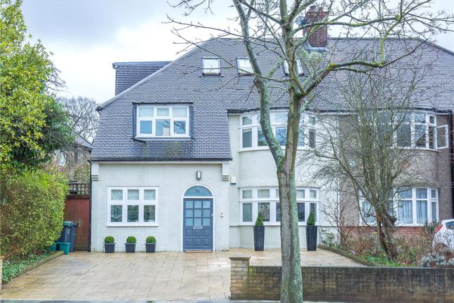 Thumbnail Semi-detached house for sale in Twyford Avenue, East Finchley, London