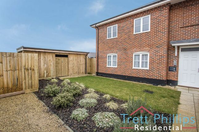Thumbnail Flat for sale in Jeckells Road, Stalham, Norwich