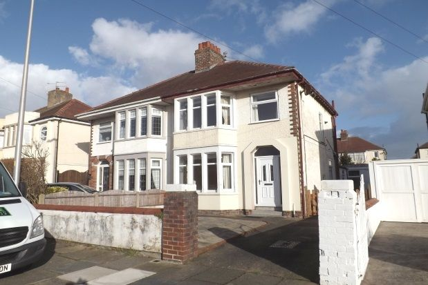 Thumbnail Semi-detached house to rent in Calder Road, Blackpool