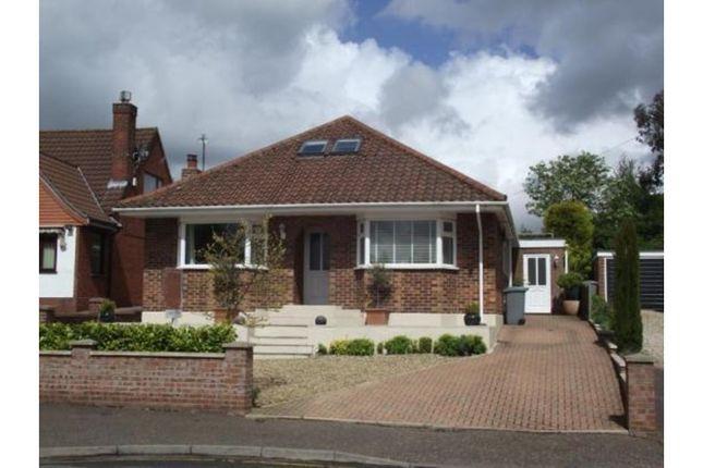 Thumbnail Detached bungalow for sale in Kinsale Avenue, Norwich