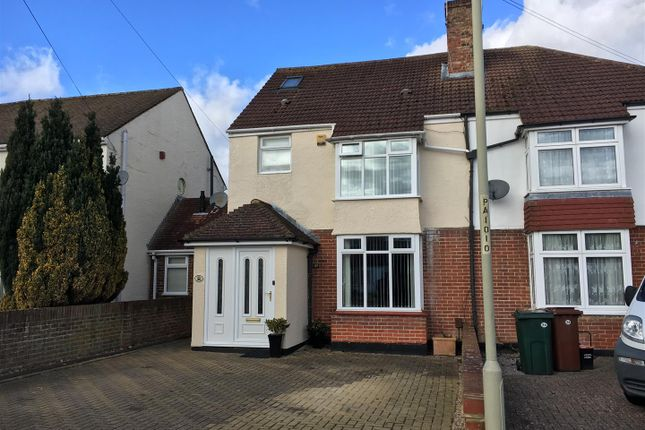 Thumbnail Semi-detached house for sale in Park Road, Kennington, Ashford