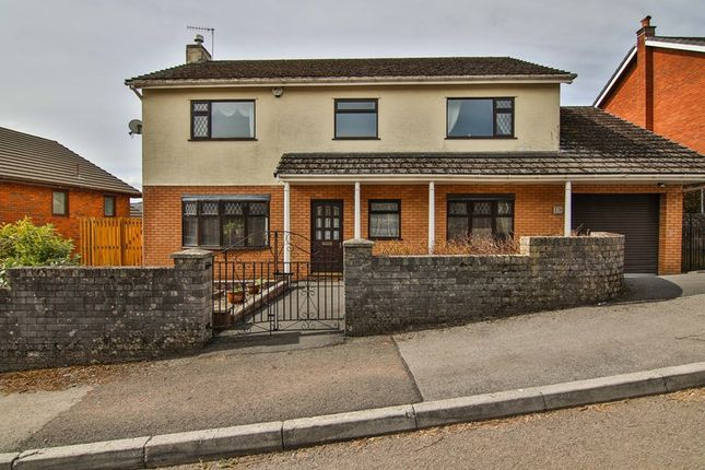 Thumbnail Detached house for sale in St. Johns Close, Cefn Coed, Merthyr Tydfil