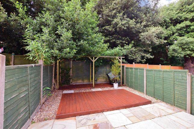 Rear Garden of East Hill Road, Ryde, Isle Of Wight PO33