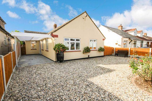 Thumbnail Detached bungalow for sale in Royston Avenue, Laindon, Basildon