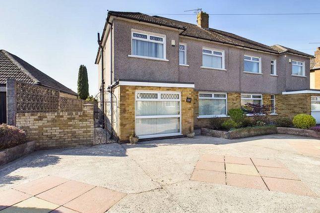 Thumbnail Semi-detached house for sale in Heol Briwnant, Rhiwbina, Cardiff.