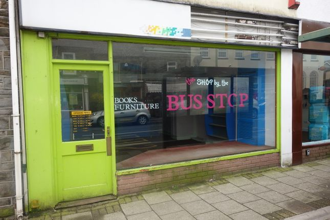 Thumbnail Studio for sale in High Street, Treorchy