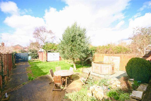 Rear Garden of Bullar Road, Southampton SO18