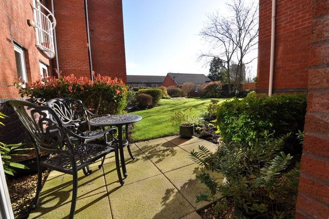 Private Patio of Lovell Court, Parkway, Holmes Chapel CW4