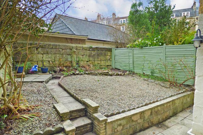 Rear Garden of Darlington Street, Central Bath BA2
