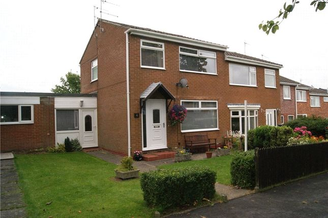Thumbnail 3 bed semi-detached house for sale in Beechcroft Avenue, Brandon, Co Durham