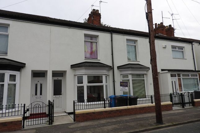 Thumbnail Terraced house for sale in Camden Street, Hull, East Riding Of Yorkshire