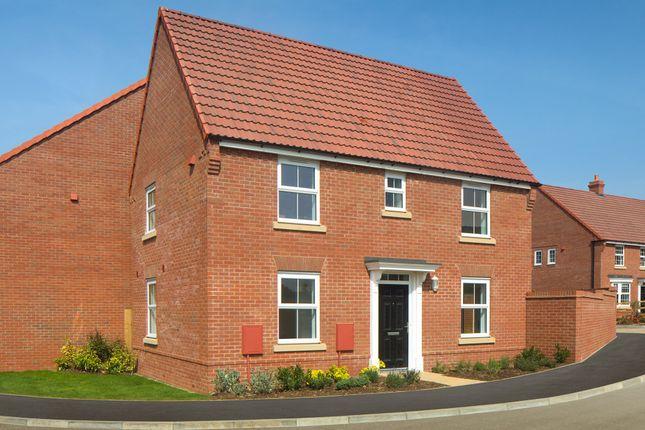 "Thumbnail Detached house for sale in ""Hadley"" at Tamora Close, Heathcote, Warwick"