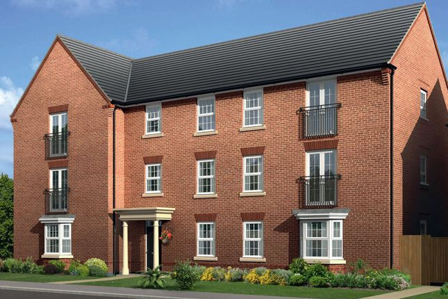 "Thumbnail Flat for sale in ""Cherwell"" at Mount Street, Barrowby Road, Grantham"