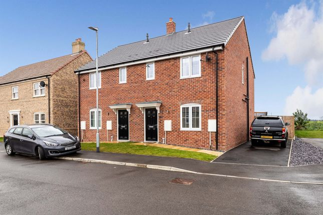 Thumbnail Semi-detached house for sale in Lowther Avenue, Moulton, Spalding