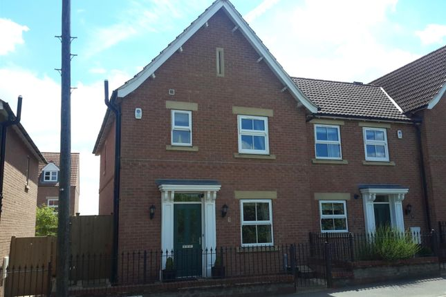 Thumbnail End terrace house to rent in Church Hill Terrace, Church Hill, Sherburn In Elmet, Leeds