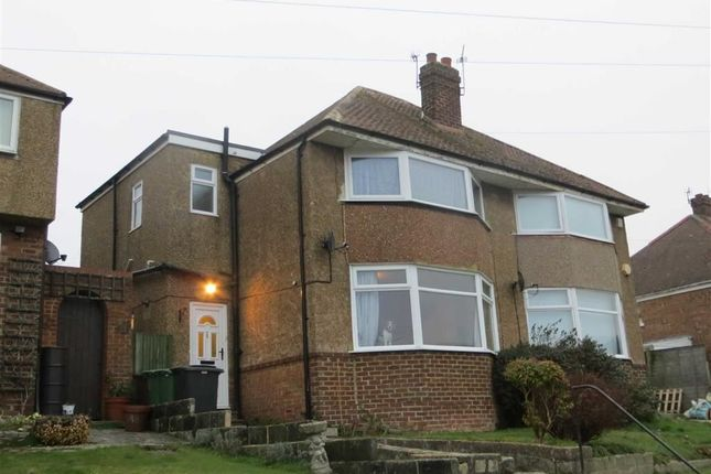 Thumbnail Semi-detached house for sale in Valleyside Road, Hastings, East Sussex