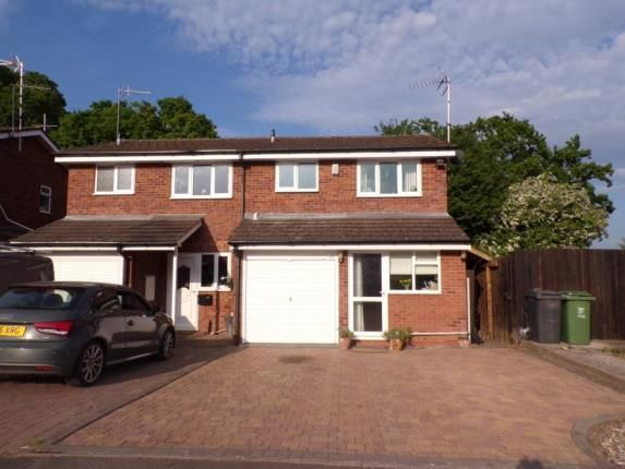 Thumbnail Semi-detached house for sale in Tenbury Close, Redditch, Worcestershire