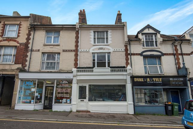 Thumbnail Commercial property for sale in London Road, Bexhill-On-Sea