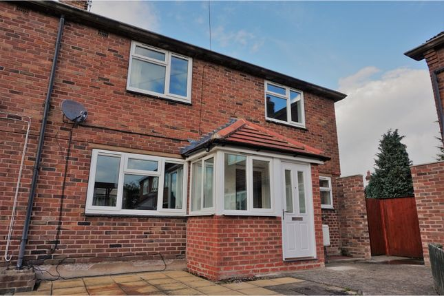 Thumbnail End terrace house for sale in Queensway, Shrewsbury