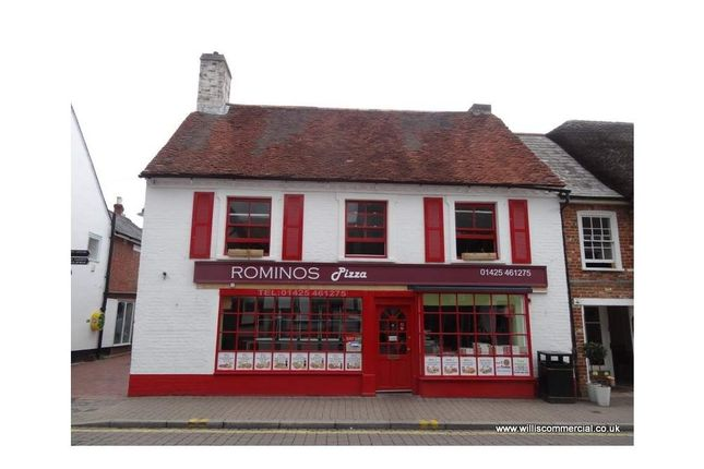 Thumbnail Restaurant/cafe to let in High Street 22-24, Ringwood