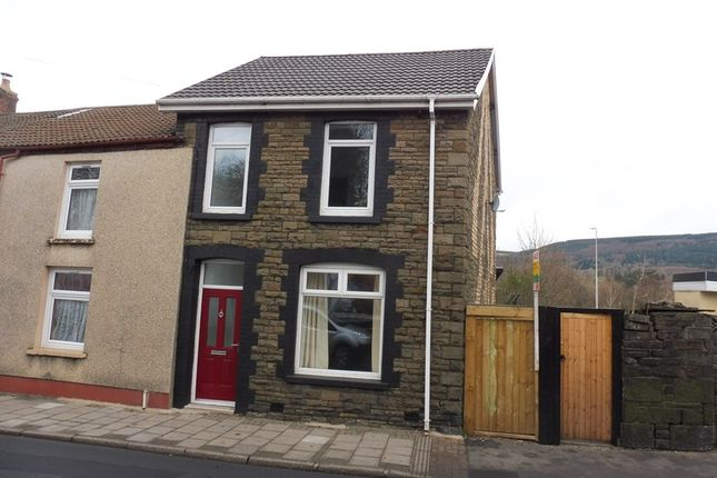 Thumbnail End terrace house for sale in Cardiff Road, Aberaman, Aberdare