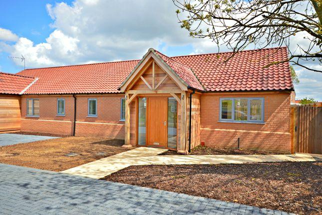 Thumbnail Semi-detached bungalow for sale in Crofts Close, Burnham Market, King's Lynn