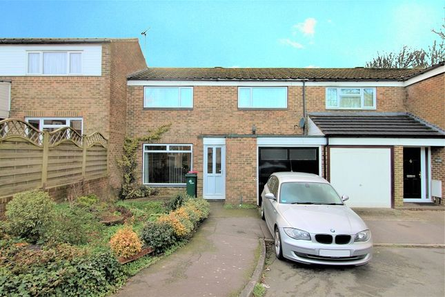 Thumbnail Terraced house for sale in Borrowdale Close, Crawley, West Sussex.