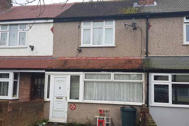Thumbnail Terraced house to rent in Warwick Crescent, Hayes