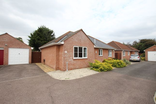 Thumbnail Detached bungalow for sale in Jubilee Close, Stanway, Colchester