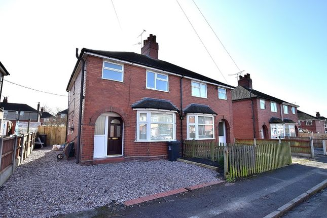 Thumbnail Semi-detached house for sale in Hollinshead Avenue, Milehouse, Newcastle