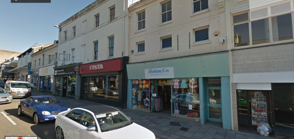Retail premises to let in Union Street, Torquay