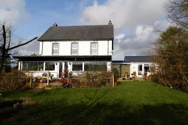 Detached house for sale in Henllan, Llandysul