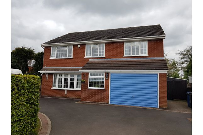 Thumbnail Detached house for sale in Main Road, Tamworth