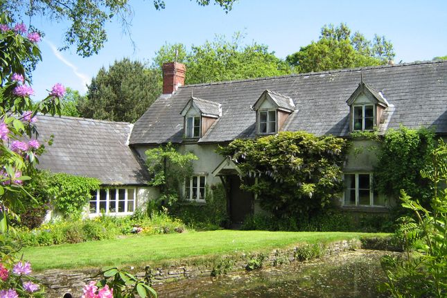 Thumbnail Farm for sale in Llanigon, Hay-On-Wye, Herefordshire