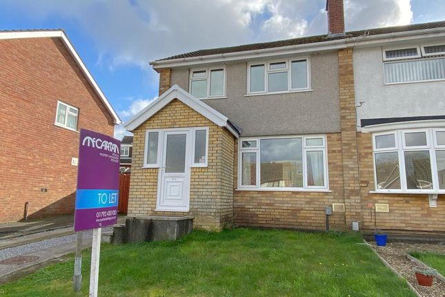 Thumbnail Semi-detached house to rent in Gwelfor, Dunvant, Swansea