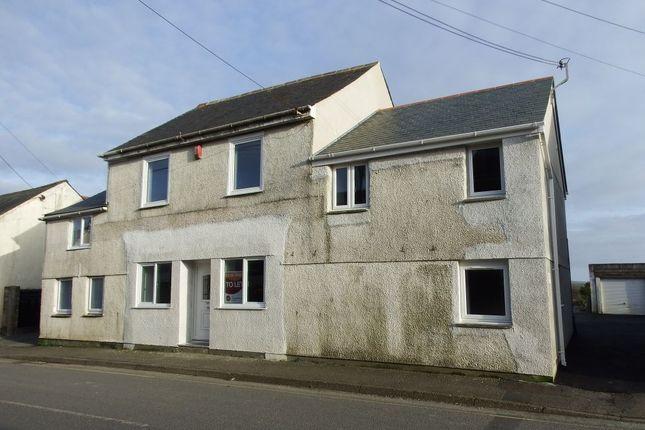 Thumbnail Flat to rent in High Street, Delabole