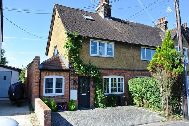 Thumbnail End terrace house for sale in Noahs Ark, Kemsing