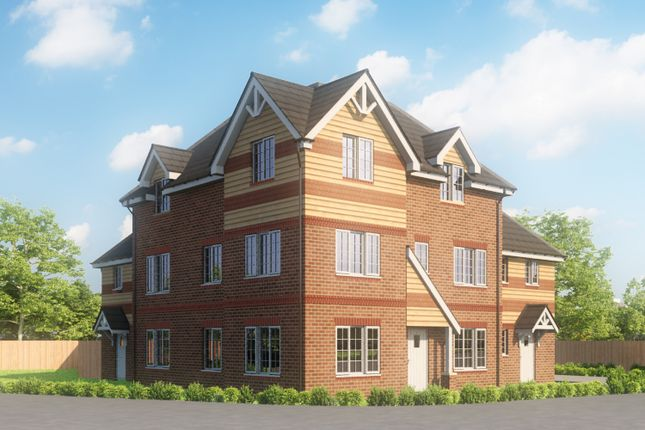 Thumbnail 2 bedroom flat for sale in Marjoram Avenue, Cranleigh
